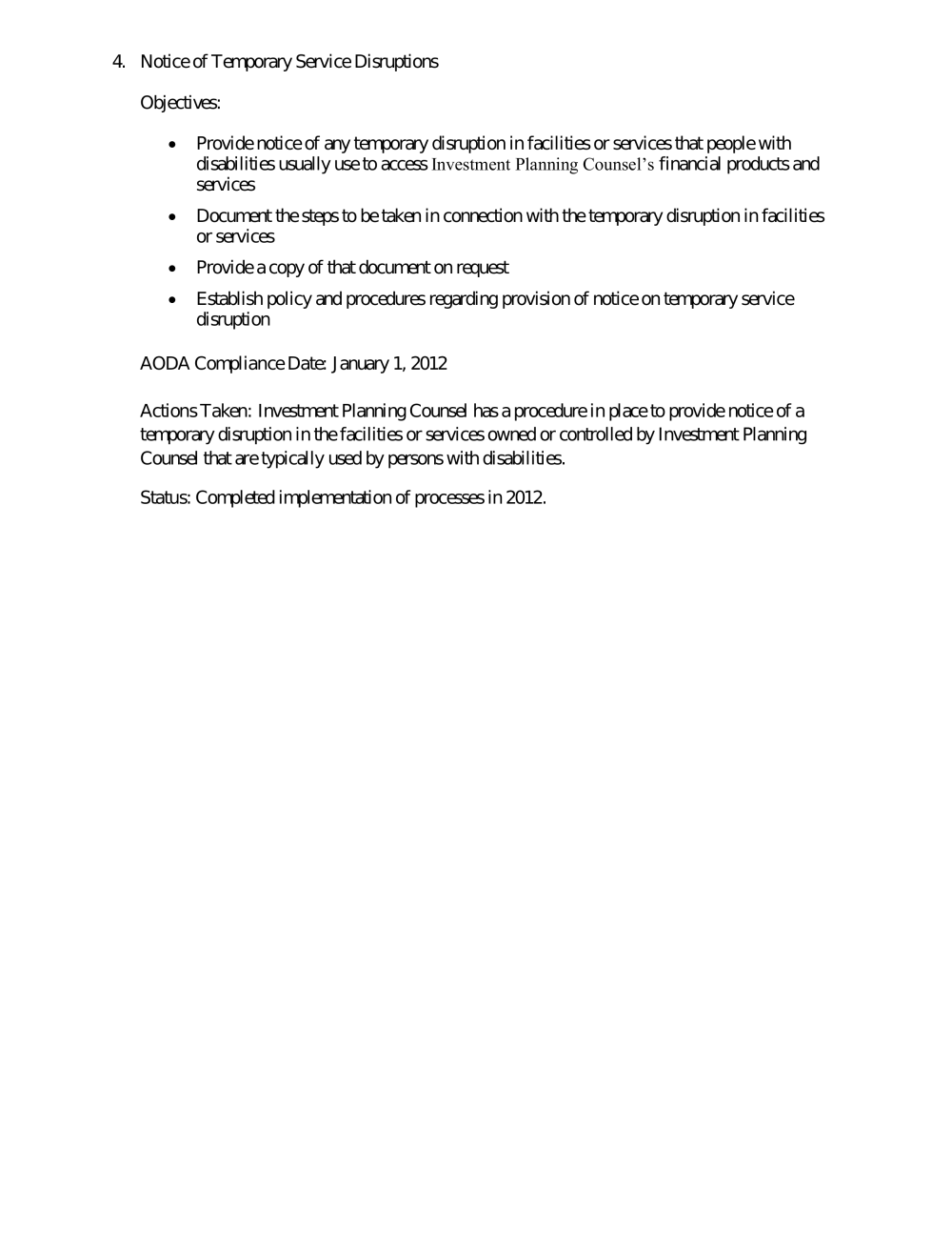 IPC - Accessibility Plan - Final  pdf - At Investment