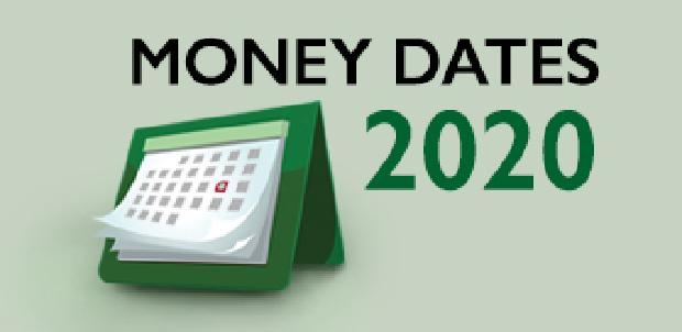 Money Dates 2020